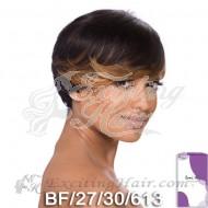 Vella Vella Capless Short Stylish Remi Human Hair Wig - Brittany
