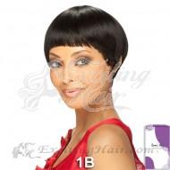 Vella Vella Capless Short Straight Remi Human Hair Wig - Nina