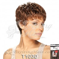 Vella Capless Short Layered Synthetic Hair Wig - Sonia