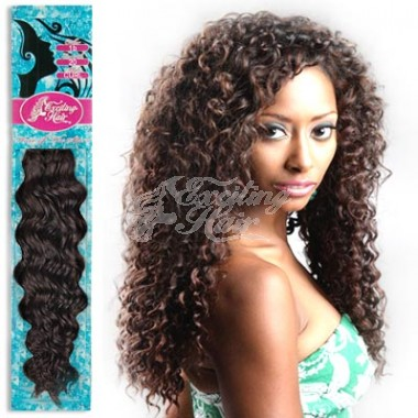 Curly Indian Remy Natural Hair Weaves