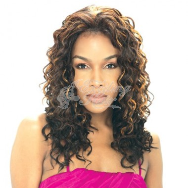 Model Synthetic Baby Hair Lace Front Wig Lolly