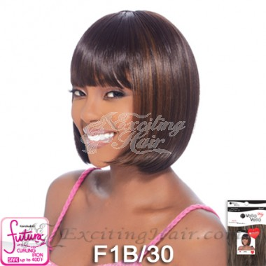 Vella Vella Capless Bob Cut Synthetic Hair Wig - Molly