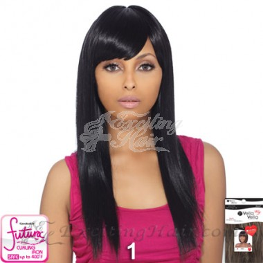 Vella Vella Long Synthetic Hair Wig with Side Bangs - Sosi
