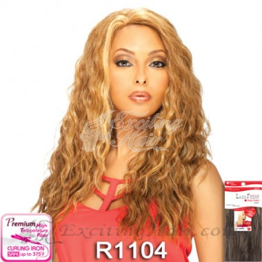 Vella Vella Wavy Natural Synthetic Lace Front Wig - Flora