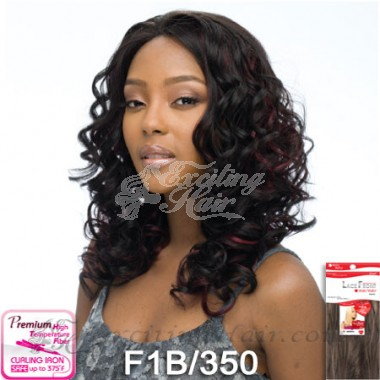 Vella Vella Wavy African American Lace Front Wig - Lori